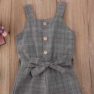 In-Fashion Plaid Overall