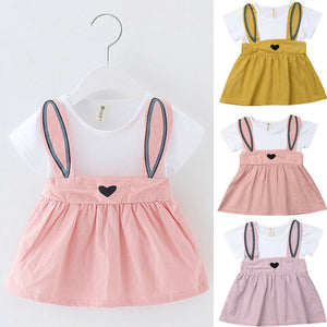 Super Cute Little Heart Frock (3 - 18 M)