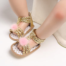 Load image into Gallery viewer, Little Girls Soft Desi Sandals