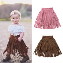 Load image into Gallery viewer, Tassel Toddler Party Skirt (18 M - 6 Y)