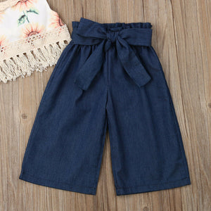 Tasseled Top + Long Crop Pants (3 - 24 M)