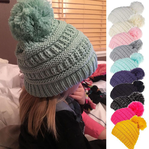 Layered Knitted Cap (0 - 24M)