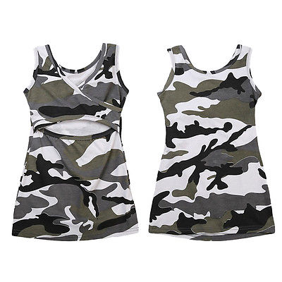 Camouflage Sundress for Baby Girls (2-6 Y) - GoFancy