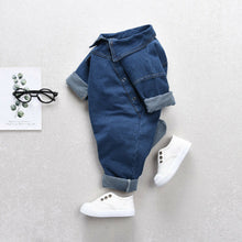Load image into Gallery viewer, The Denim Jumpsuit (3 M - 3 Y)