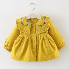 Load image into Gallery viewer, The Windbreaker Series Embroidered Frock (6 - 24M)