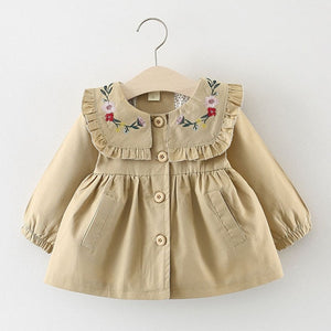 The Windbreaker Series Embroidered Frock (6 - 24M)