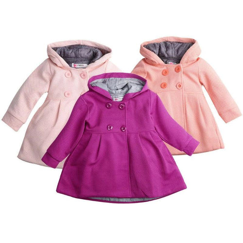 Trench Hooded Warm Baby Outerwear (6 - 18 M)
