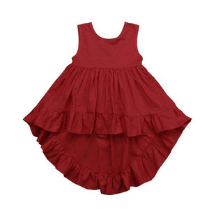 I Love it Plain & Solid Frock (9 M - 4 Y)