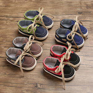 Sober Boys Laced Infant Shoes (0 - 15 M)