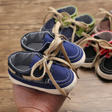 Load image into Gallery viewer, Sober Boys Laced Infant Shoes (0 - 15 M)
