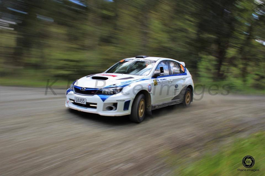 Lock and Load Subaru at RNZ Raglan Rally