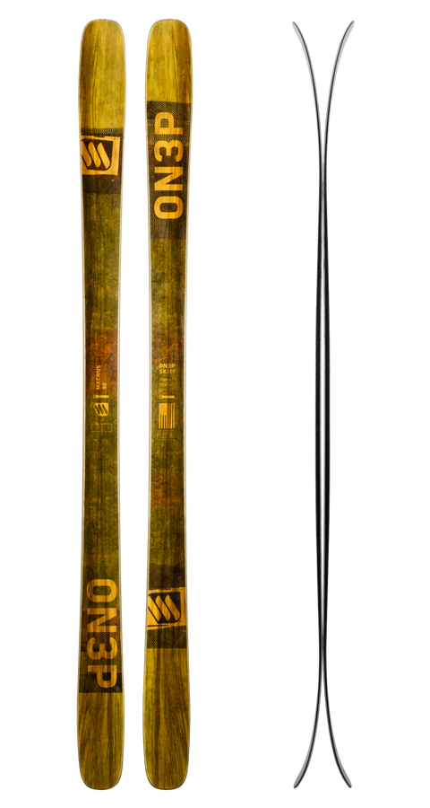 Limited Edition 2020 Wood Veneer Skis