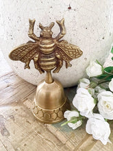Load image into Gallery viewer, Brass Bell- Bee