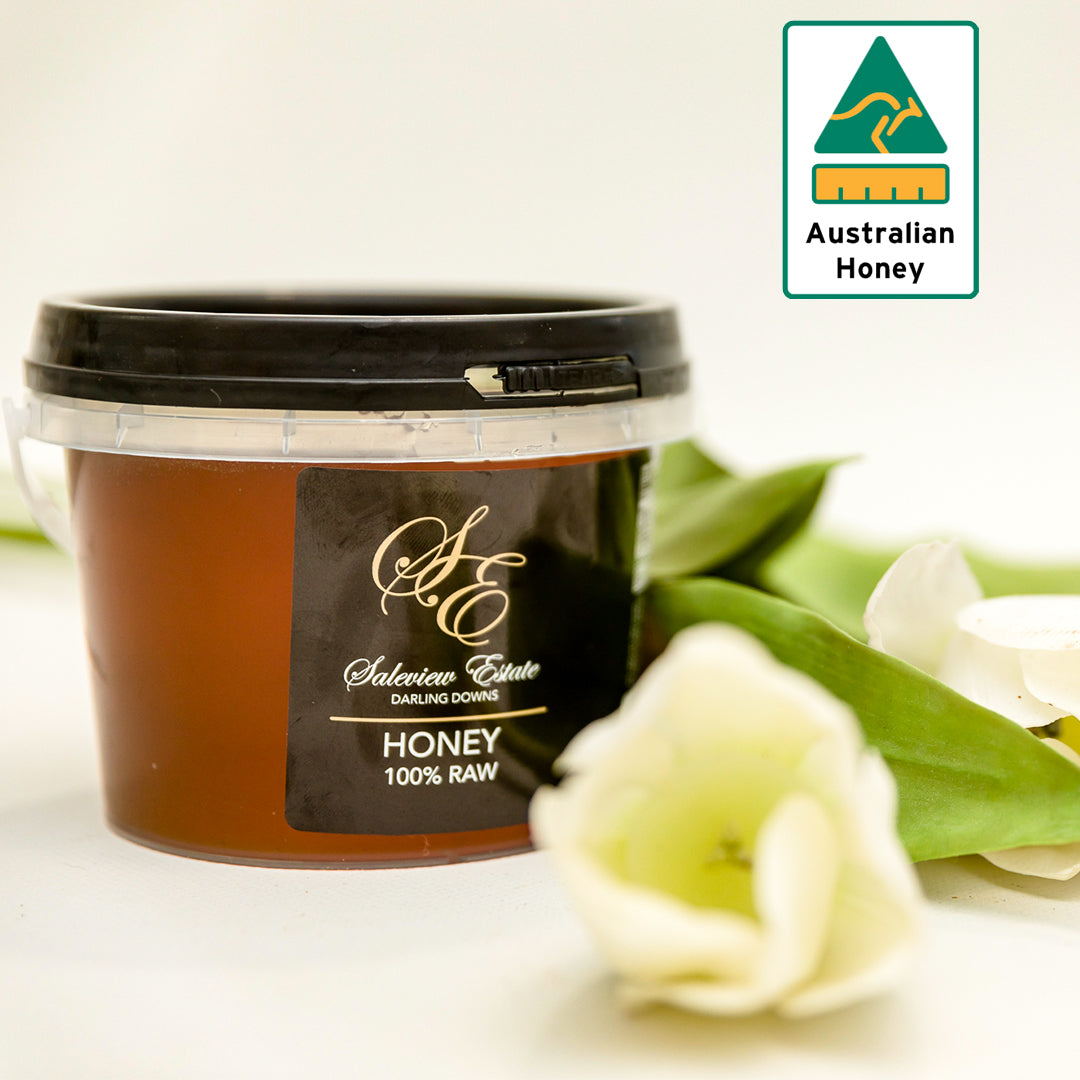 100% Raw Honey (450g & 1kg)