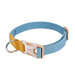 Mustard/Blue Easy Peasy Collar