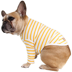 Basic Frenchie Striped Top
