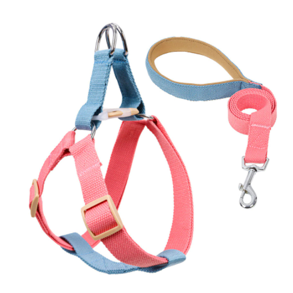 Pink/Sky Blue Easy Peasy Harness Set