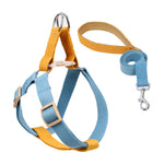 Mustard/Blue Easy Peasy Harness Set