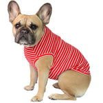 Red Potato Striped Vest