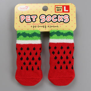 Watermelon Doggo Socks