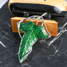Load image into Gallery viewer, The Leaf of Lothlórien Brooch Necklace