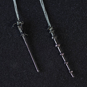 Wand Necklace & Keychain