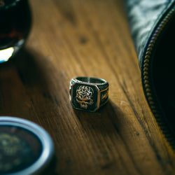Vintage Pirate Skull Ring