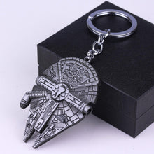Load image into Gallery viewer, The Millennium Falcon Necklace & Keychain (FREE)