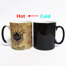 Load image into Gallery viewer, Marauder's Map Mug (Color Changing)