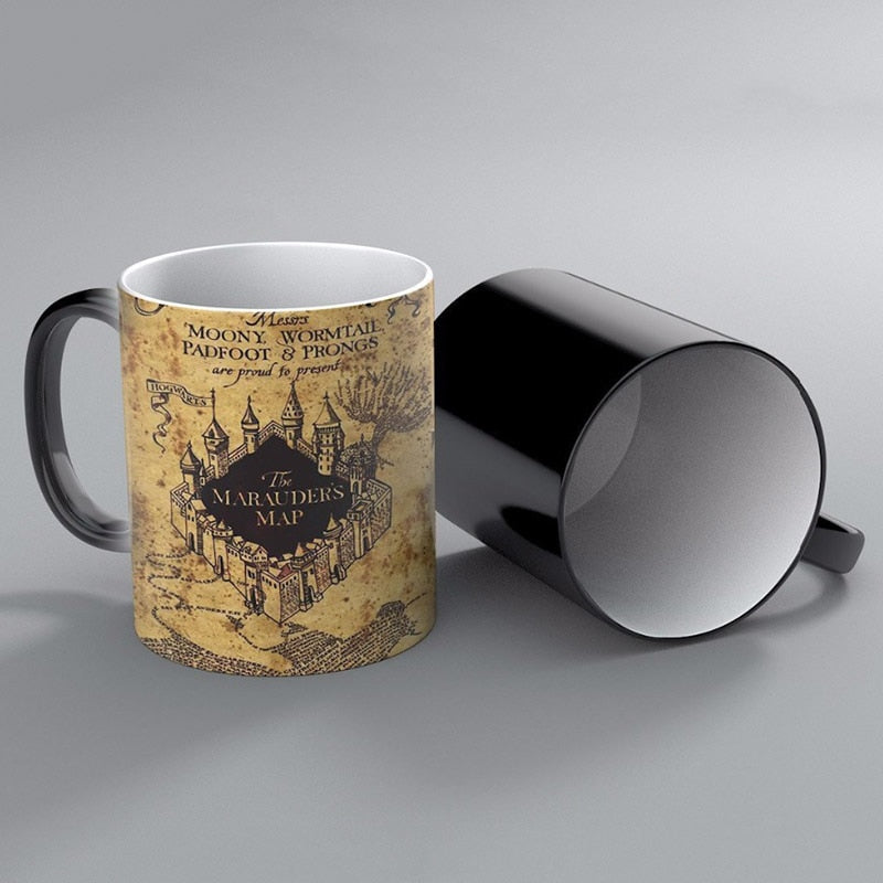Marauder's Map Mug (Color Changing)