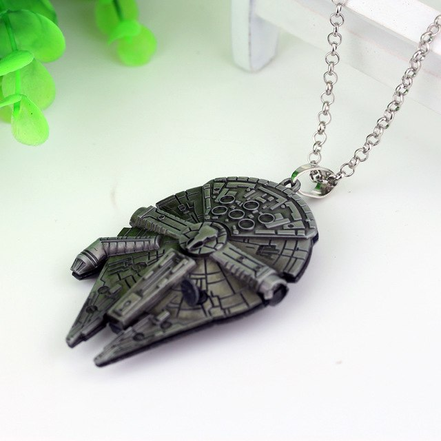 The Millennium Falcon Necklace & Keychain (FREE)