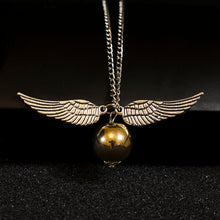 Load image into Gallery viewer, Golden Snitch Necklace