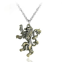 Load image into Gallery viewer, House Lannister Necklace