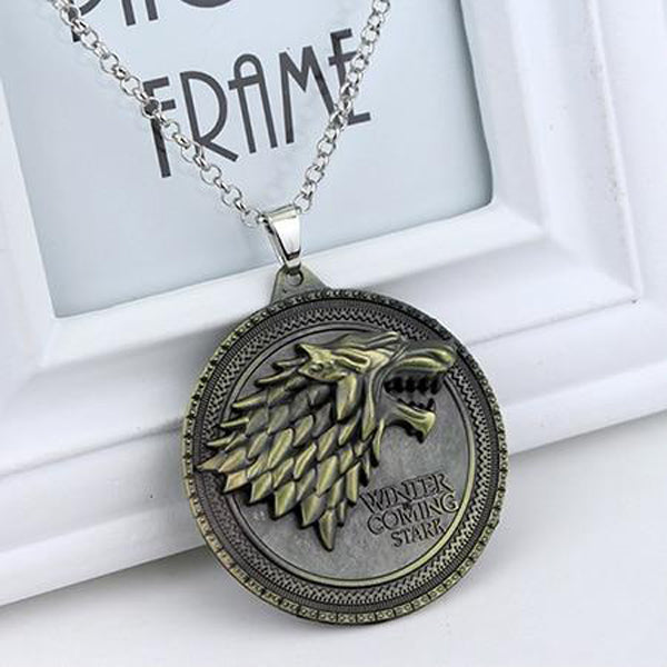 House Stark Sigil Necklace (FREE)
