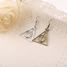 Load image into Gallery viewer, Deathly Hallows Earrings