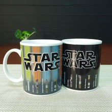 Load image into Gallery viewer, Star Wars Lightsabers Mug (Color Changing)