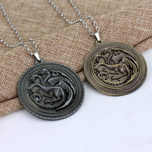 House Targaryen Sigil Necklace