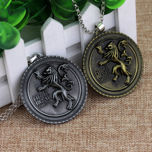 House Lannister Sigil Necklace