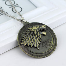 Load image into Gallery viewer, House Stark Sigil Necklace (FREE)