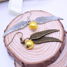 Load image into Gallery viewer, Golden Snitch Earrings