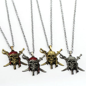 Pirates of the Caribbean Skull Necklace