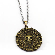 Load image into Gallery viewer, Pirates of the Caribbean Aztec Medallion Necklace (FREE)
