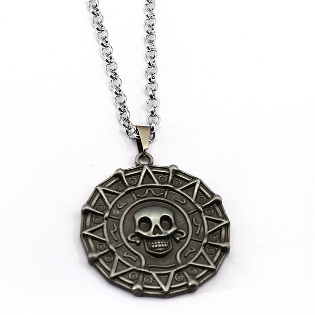 Pirates of the Caribbean Aztec Medallion Necklace (FREE)