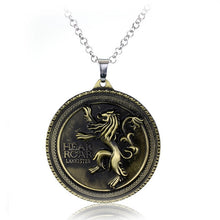 Load image into Gallery viewer, House Lannister Sigil Necklace