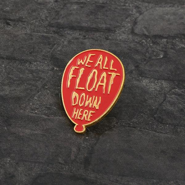 IT Chapter Two - Time to Float Pin/Badge
