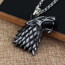 Load image into Gallery viewer, House Stark Necklace (FREE)