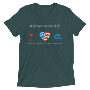 National Women's Half Marathon #WomenRunDC Short Sleeve T-shirt