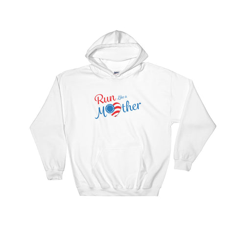 "Run With Heart Series ""Run Like a Mother"" Hooded Sweatshirt"