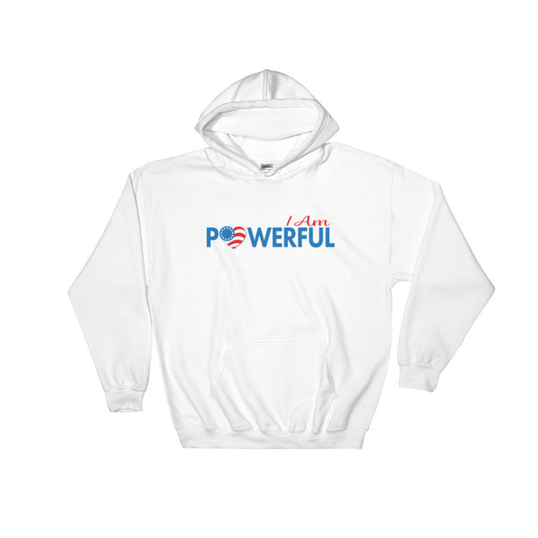 "Run with Heart Series ""I Am Powerful"" Hooded Sweatshirt"