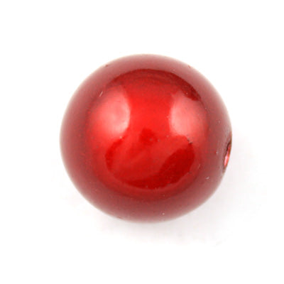 Top Quality 20mm Round Miracle Beads,Dark Red,Sold per pkg of about 120 Pcs